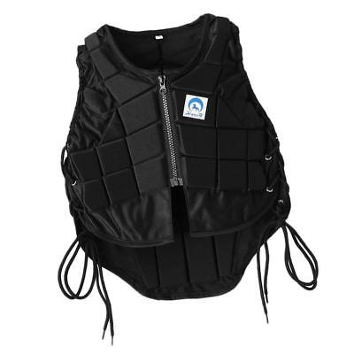 Pro Safety Equestrian Horse Riding Vest EVA Padded Body Protector Kids CS