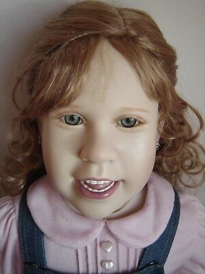 Ashton Drake HANGING OUT WITH HANNAH Julie Fischer Doll Tags Beautiful Condition