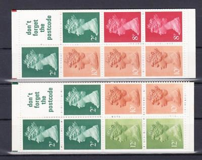 (2072) Great Britain Mnh Booklets