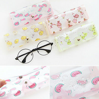 Fruit Clear Sunglasses Glasses Case Spectacle Storage Protection Carry Box FG