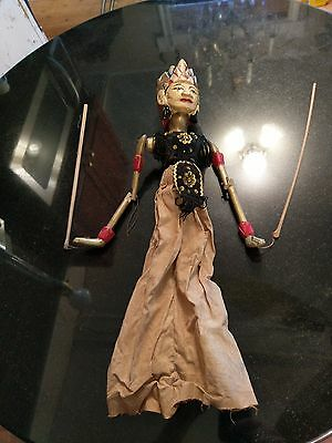 1800s Hand Carved Hand Painted Marionette Puppet
