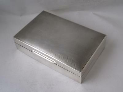 Smart Sterling Silver Cigarette Box 1953/ L 14.2 cm