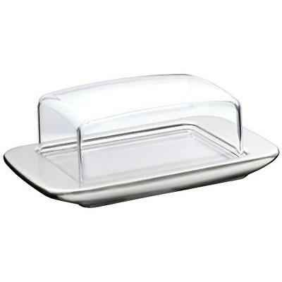 WMF Butter dish Loft - butter dishes (Rectangular, Stainless steel, Glass, Stain