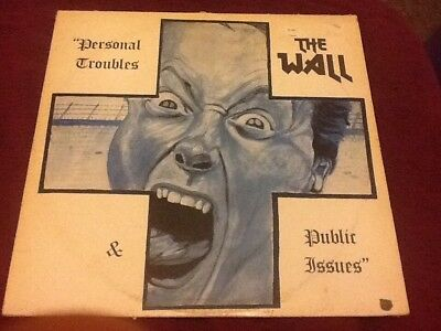 The Wall. Personal Troubles. public Issues. LP. Punk. U.K. Subs. Oi. U.K. Decay.