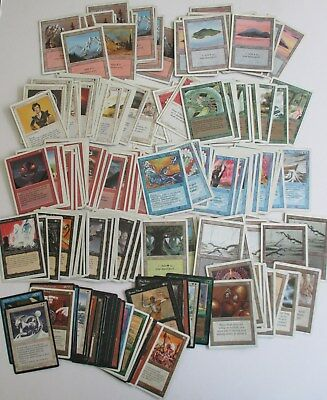 Magic The Gathering 193 Card Lot MTG Deckmaster Vintage 1994 1995 Store Closeout