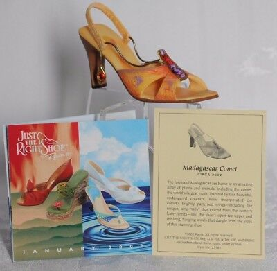 1 NEW Madagascar Comet Just the Right Shoe Raine #25182 in box from 2002