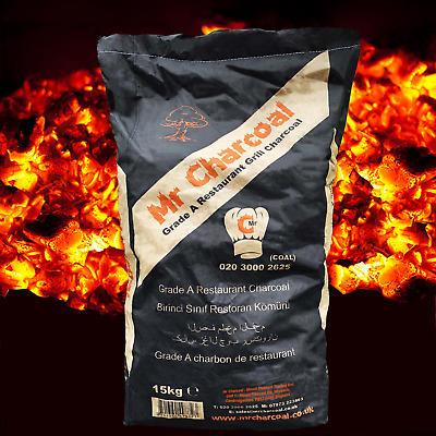 BBQ Hardwood Stick Charcoal 15kg Premium Barbecue Coal Free UK Delivery