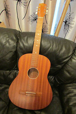Vintage Lief Hansson Early 70's Classical Guitar V.g.c.