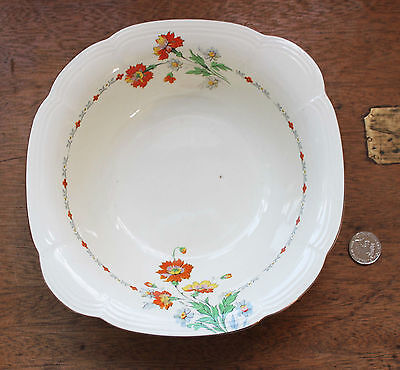 Vintage Alfred Meakin : Royal Marigold : Fruit Bowl or Main Serving Bowl