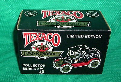 New in Box Texaco Collector Series Bank #5 1988: 1918 Ford Runabout