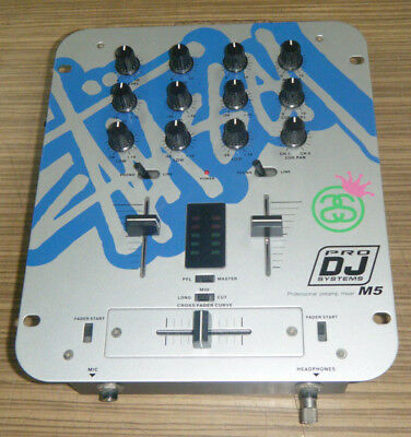 Pro DJ Systems M5 Professional Preamp Mixer