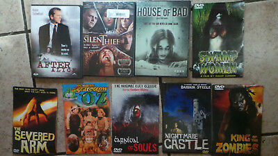Lot of  9 Movies DVD - Horror Titles   Brand New!   -Free Shipping!!   Horror