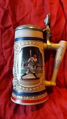 """Babe Ruth """"The Called Shot"""" Beer Stein  Issued by The Bradford Museum"""
