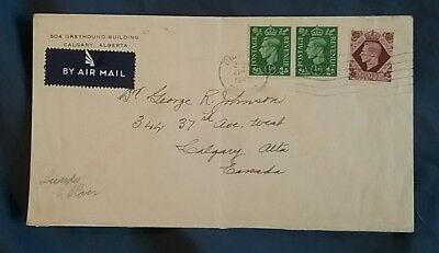 kerryyw U.K. cover 1949 to Calgary from Lundy