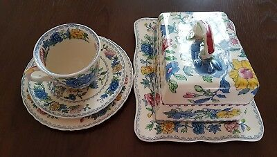 Masons Regency cheese dish plus cup saucer and plate