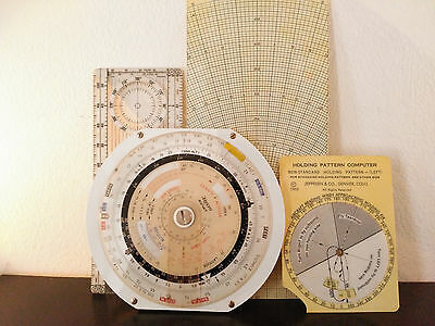 * * + + ARISTO AVIAT Nr.617 Circular Aviation Slide Rule Pilots Flight Rare * *