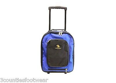Prohawk Bowls Trolley Bag - Pull Along - Strong Durable Free P&p  Blue Prohawk
