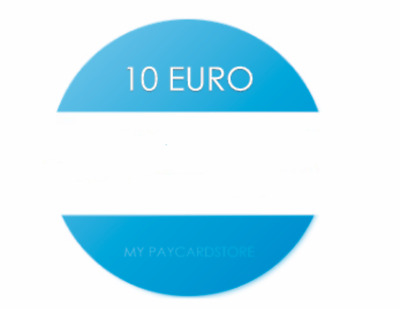 Paysafe Card 10€ EUR // Digitaler Code/Key // Lieferung via Ebay-Email