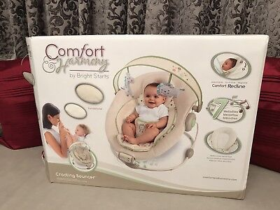 Bright Starts Comfort And Harmony Bouncer