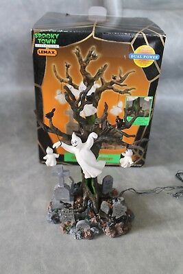 Lemax Spooky Town Graveyard Ghost - Lighted Tree