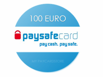 Paysafe Card 100€ EUR // Digitaler Code/Key // Lieferung via Ebay-Email