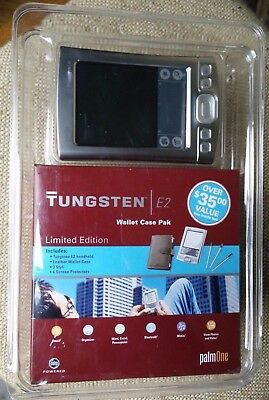 Palm Tungsten E2, Limited Edition, in NEW UNOPENED Wallet Case Pak blister