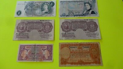 Old And Older British Currency Look!!!