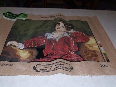 Semco Imported Tapestry - Master Lambton - Partially completed