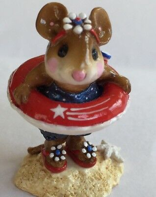 Wee Forest Folk Little Dipper LIMITED  SPECIAL RED WHITE & BLUE DOTTED SUIT