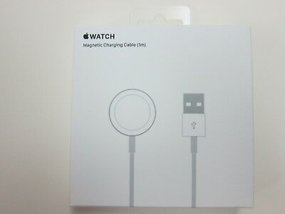 Genuine Apple Watch 1M Magnetic Charging Cable MKLG2AM/A, White - Brand NEW