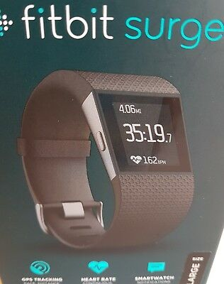 Fitbit Surge Performance Wireless Activity HeartRate Sleep GPS Smart Super Watch