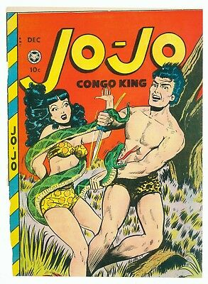 Jo-Jo Comics #22 December 1948 Front Cover Only