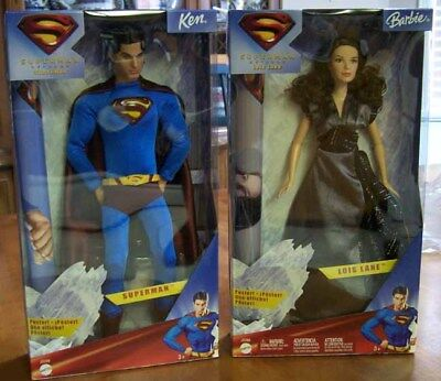Superman and Lois Lane in Superman Returns Barbie & Ken - NEW