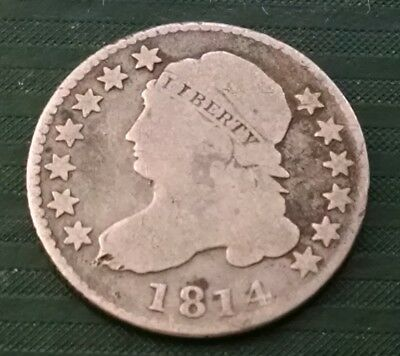 1814 Capped Bust Dime
