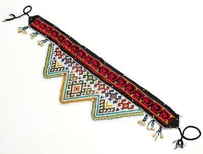 Kuchi Belly Dance Old Banjara Beaded Guls Tribal Ethnic Hanging Belt Ats