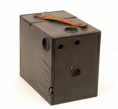 Vintage Box Camera Rochester Optical Cyclone Senior 4X5 with 2 Film Holders
