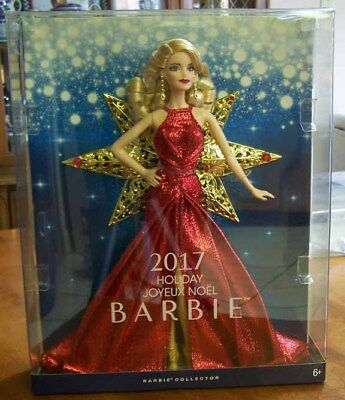 2017 Happy Holiday Barbie - NEW