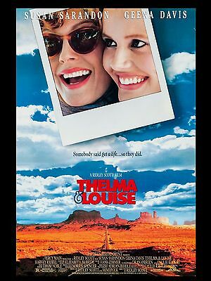 """Thelma and Louise 16"""" x 12"""" Reproduction Movie Poster Photo"""
