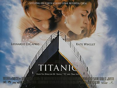 """Titanic 1997 16"""" x 12"""" Reproduction Movie Poster Photograph"""