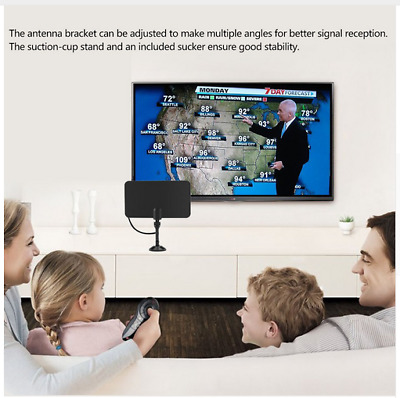HD High Definition TV Fox Free TV Digital Indoor TV Antenna HD Flat Design Hot