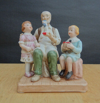 Norman Rockwell Museum THE TOYMAKER Figurine with Box NICE!!