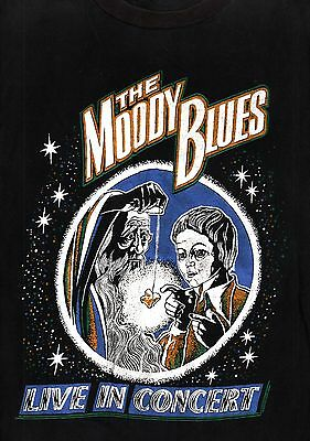 Moody Blues 1971 Every Good Boy Deserves A Favour Tour Vintage Tee T Shirt