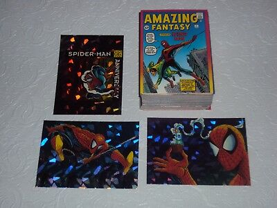 Spider-man 30th Anniversary Card Set w/Prism Cards (1992 Comic Images)