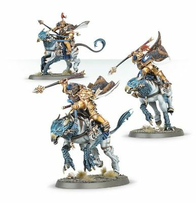 Stormcast Eternals VANGUARD MOUNTED PALLADORS x 3 - Age of Sigmar New & on Sprue