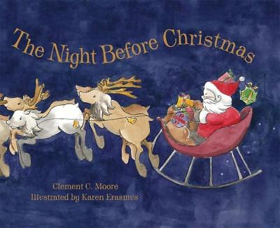 NEW The Night Before Christmas By Clement C Moore Board Book Free Shipping