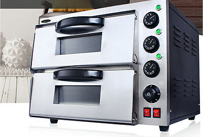 40L Home Commercial Silver Multi-function Baking Tool Benchtop Electric Oven &
