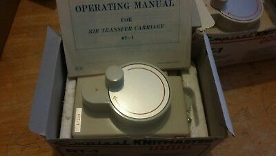 Knit master / silver reed RT1 rib transfer carriage in box for knitting machine