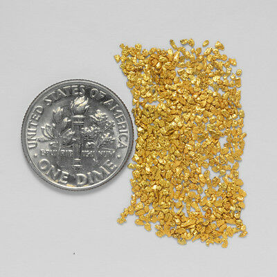 0.9316 Gram Alaskan Natural Gold Nuggets - (#20720) - Hand-Picked Quality
