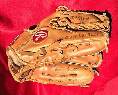 Ozzie Smith Rawlings USA HOH Heart of Hide Game Issue Used Baseball Glove