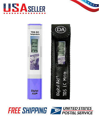 Professional Quality TDS EC & Temperature Water Test Meter Drinking & Aquariums